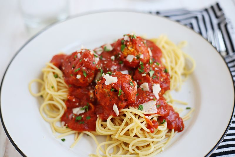 My favorite vegetarian meatball recipe