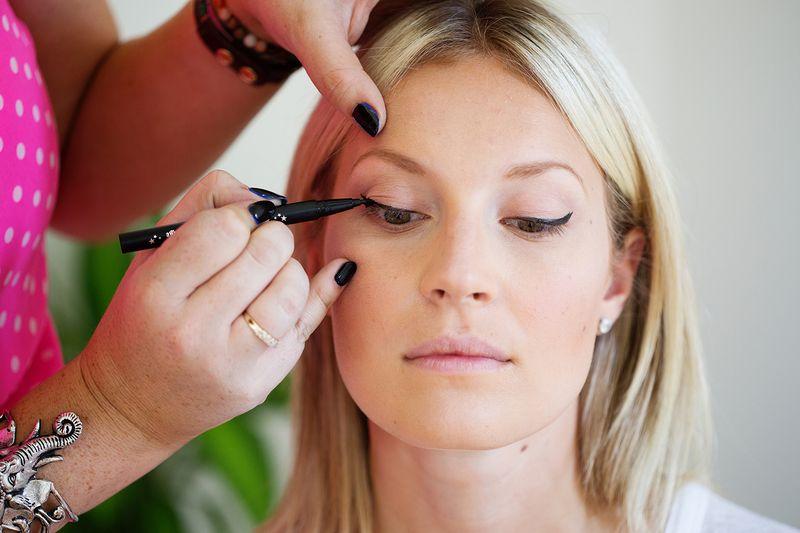 Get perfect cat eye eyeliner.