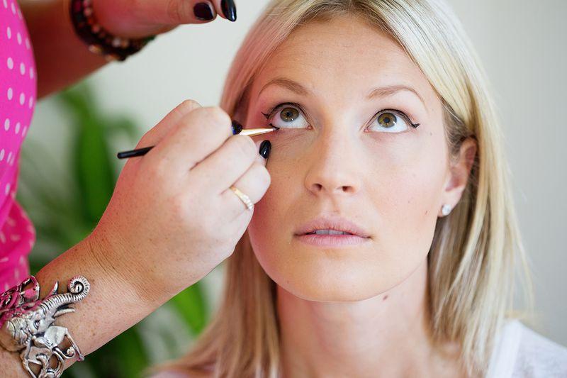 Perfect cat eye eyeliner