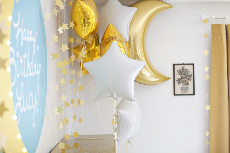 Moon and Stars Birthday Party - A Beautiful Mess