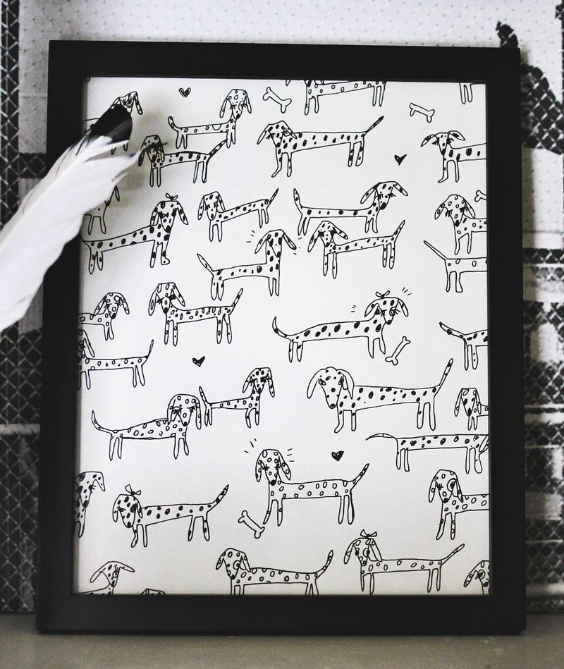 DIY personalized pet art