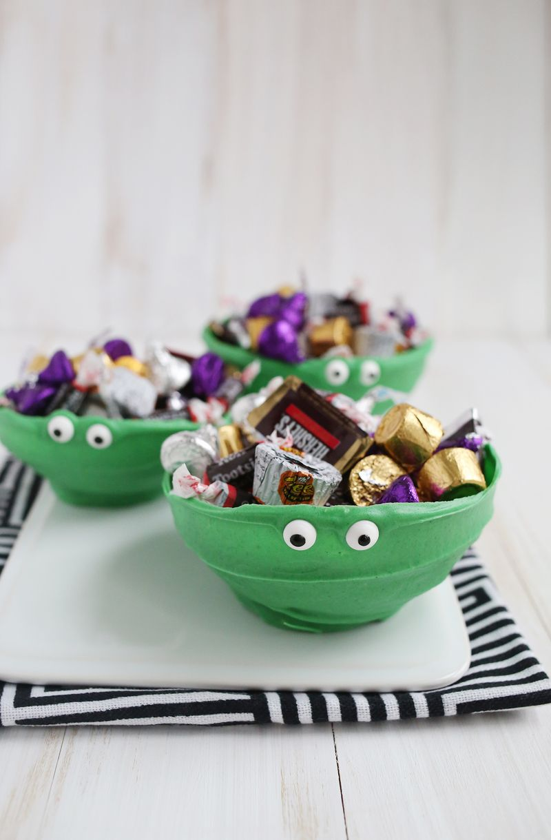 Monster chocolate bowls!