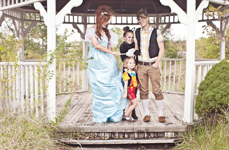 Magical family costume