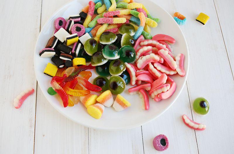 Candy teeth!