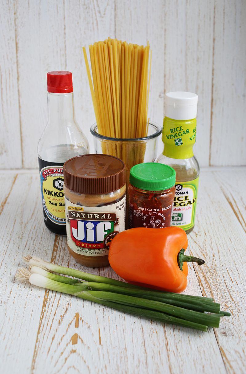 Spicy peanut noodles recipe