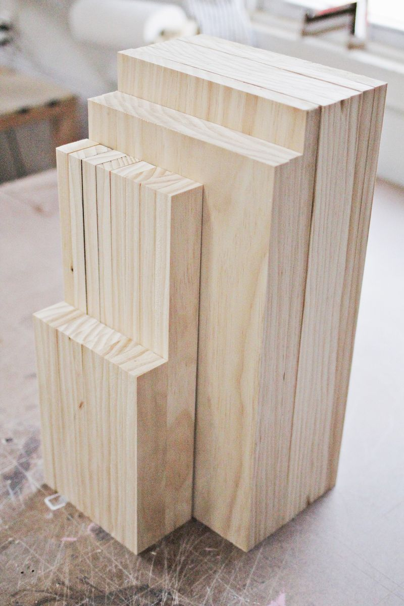Wood end tables cubed (click to learn how I made them)