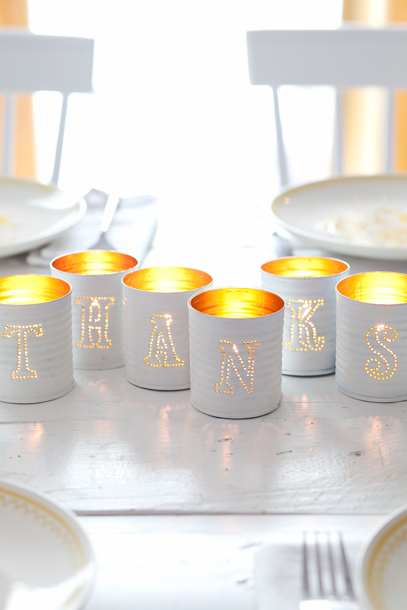 Tin Punched Votive Candles A Beautiful Mess