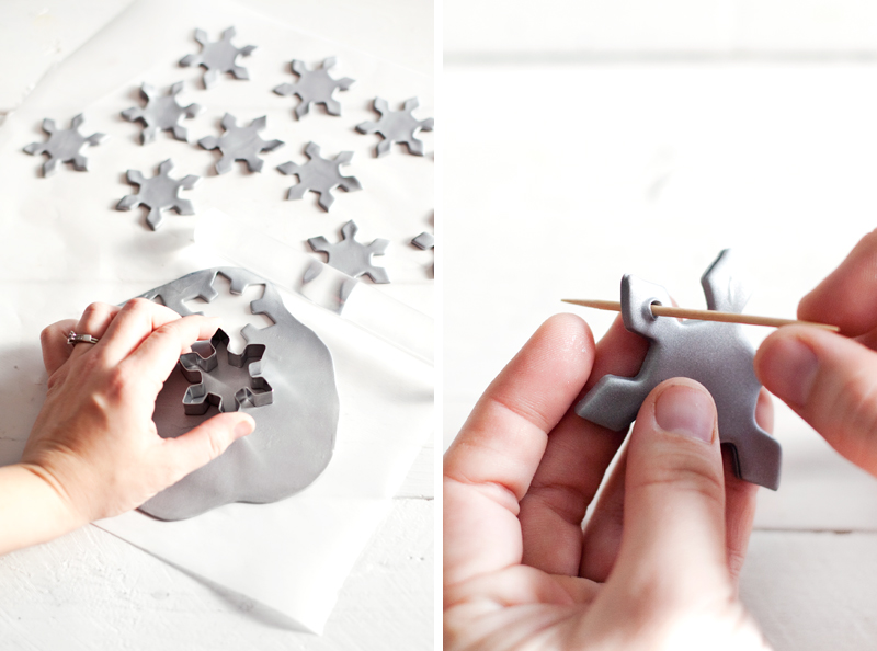 Five homemade holiday garlands to make this season— Including this sparkly snowflake garland