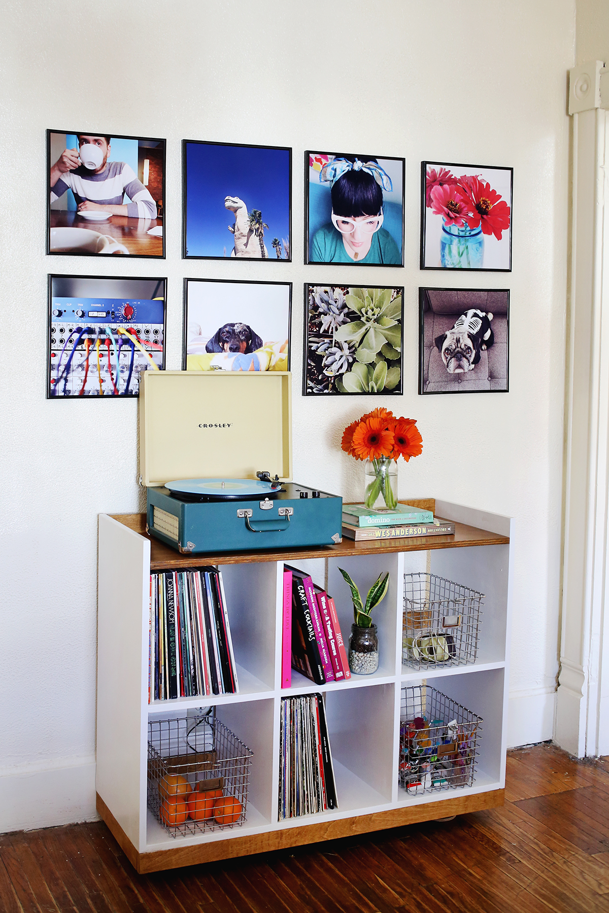 Image of: Record Frame Instagram Photo Wall A Beautiful Mess