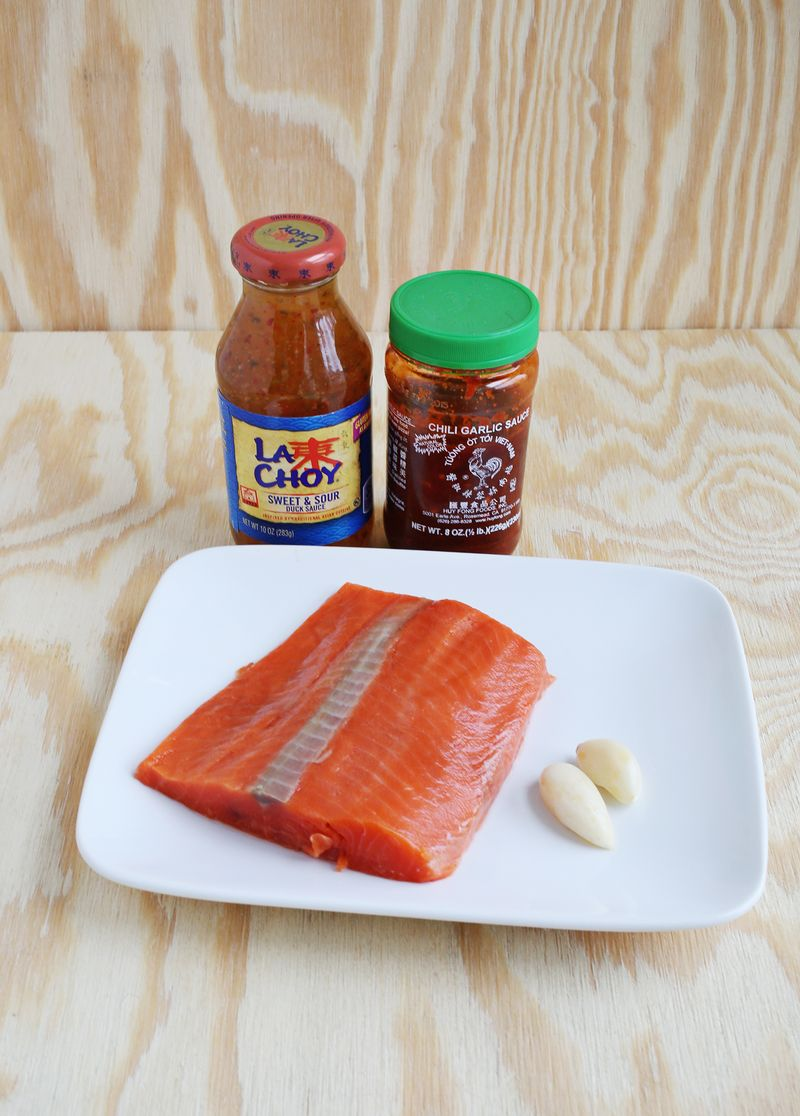 Easiest ever salmon recipe