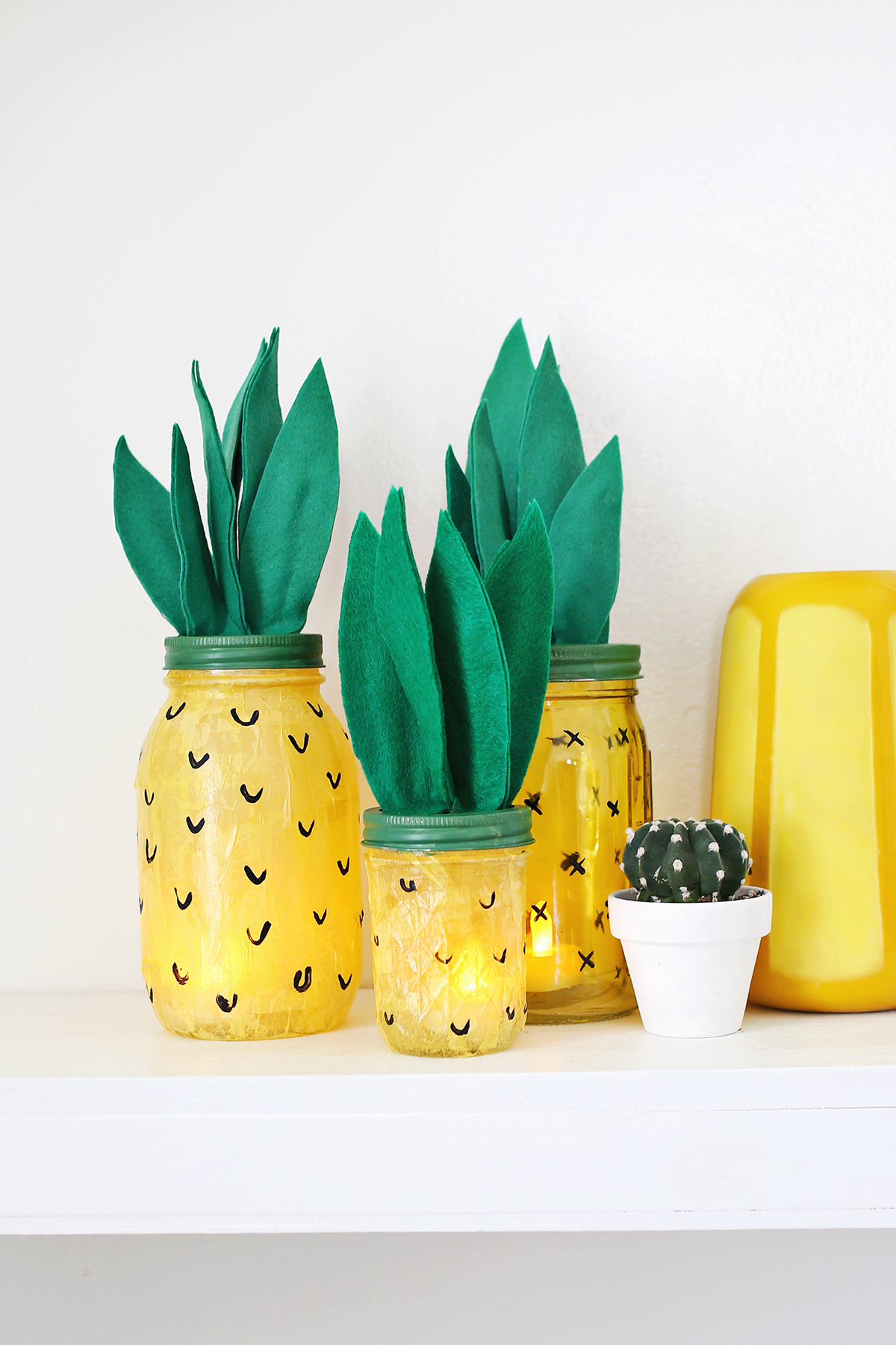 Make Your Own Pineapple Night Light A Beautiful Mess