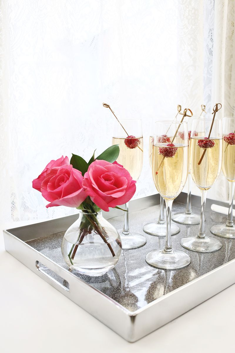 Champagne, please? www.abeautifulmess.com