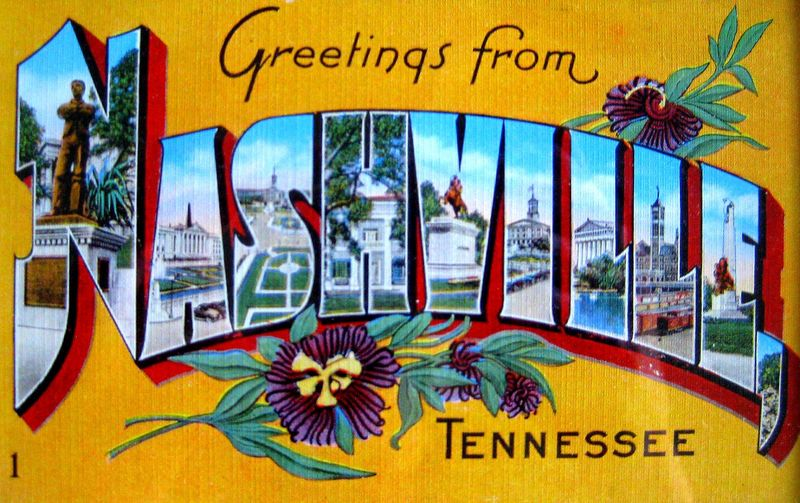 Greetings from Nashville