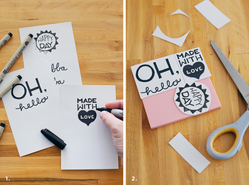 How to Turn Your Doodles into Stamps