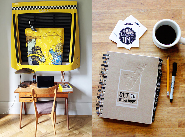 Creative homes and get to work book