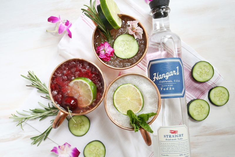 3 twists on the Moscow Mule via A Beautiful Mess