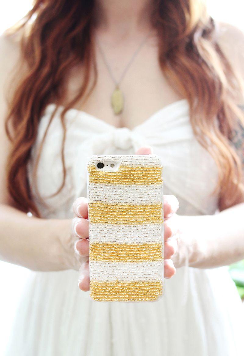 Beaded iPhone Cases DIY