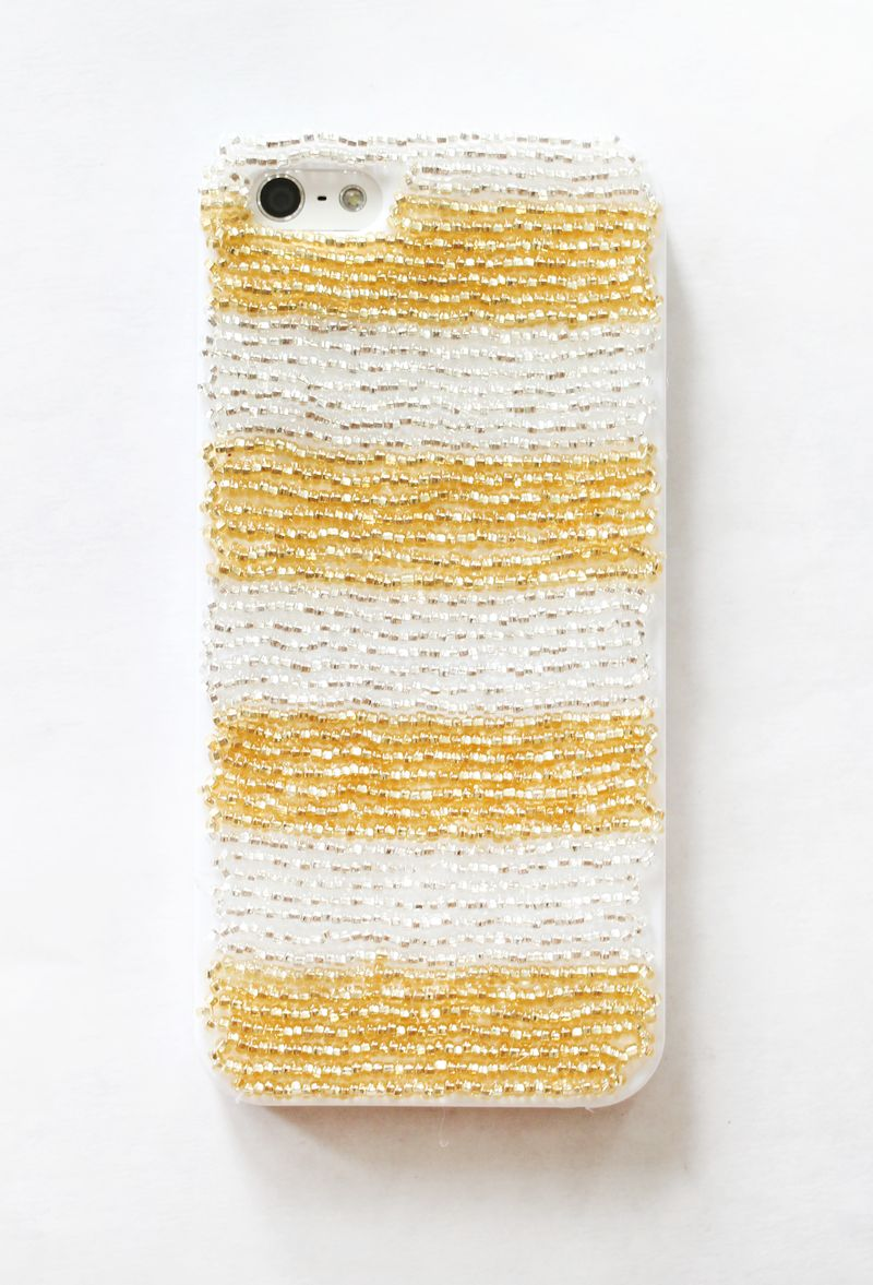 Make your own beaded iPhone cases