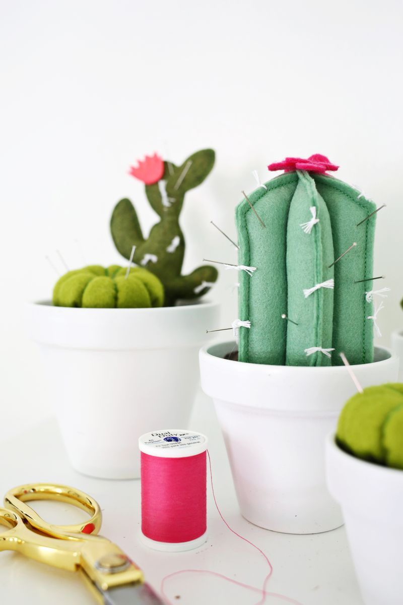 Cactus Pincushion Diy