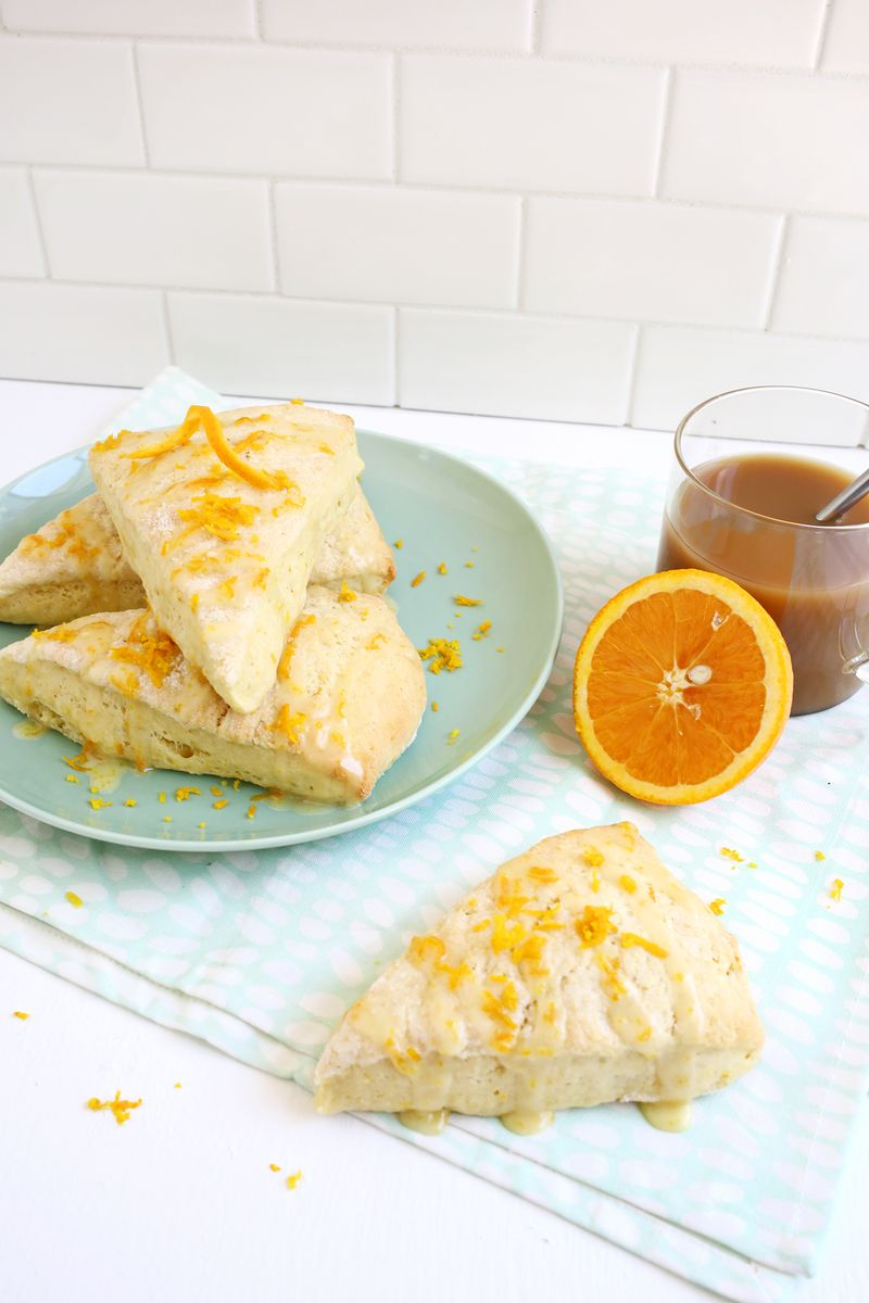 Perfect for brunch! orange zest scones (click through for recipes