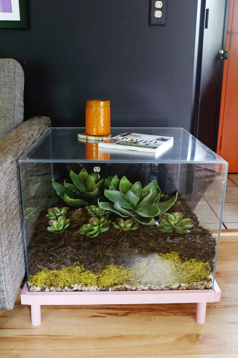 - Terrarium Side Table DIY - A Beautiful Mess