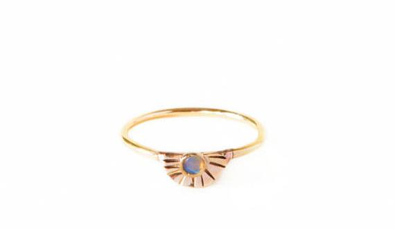 Arc Opal Ring