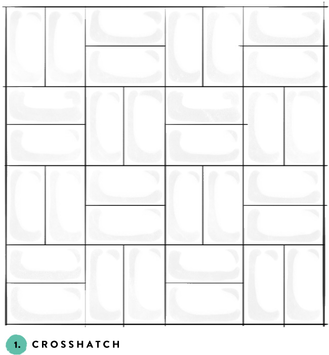 What S Your Favorite Subway Tile Pattern 1 Crosshatch