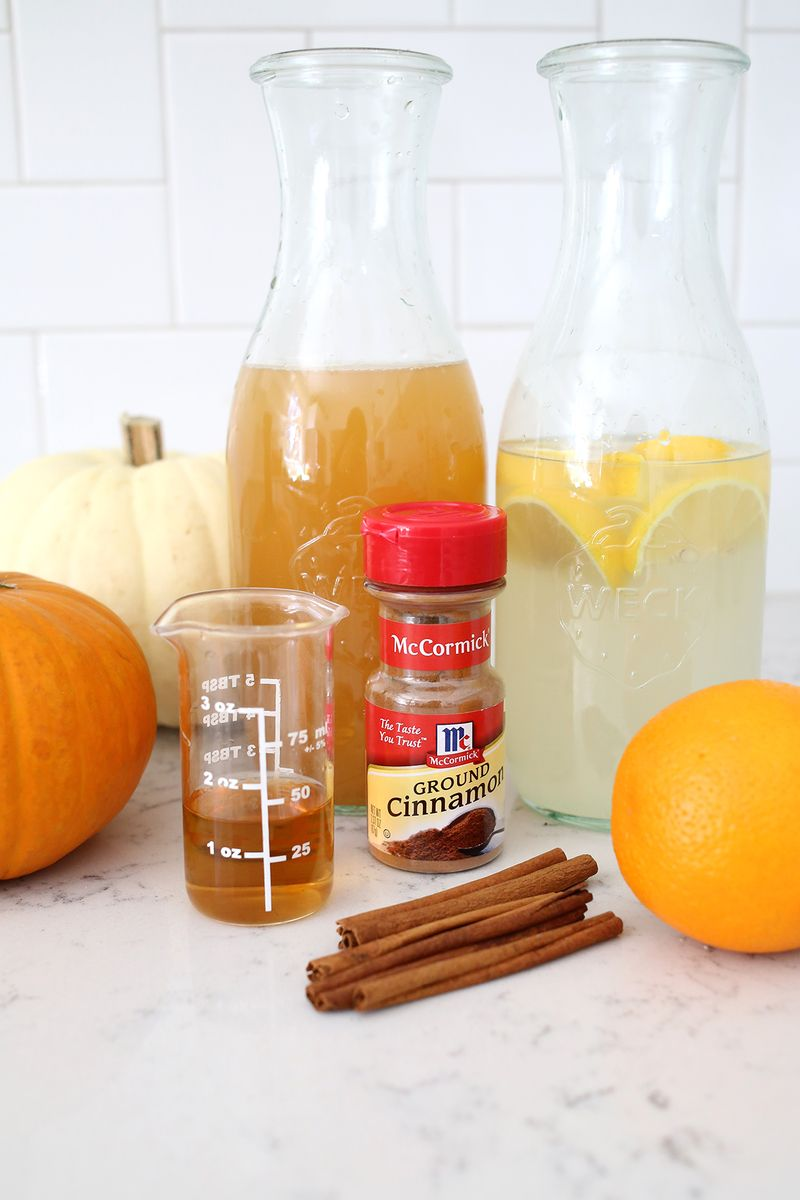 My favorite fall cocktail! Only four ingredients!