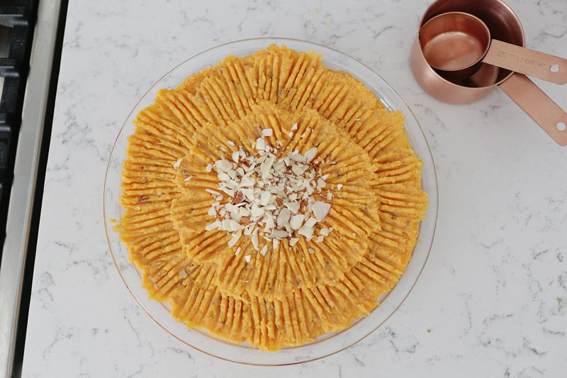 Duchess sweet potato casserole