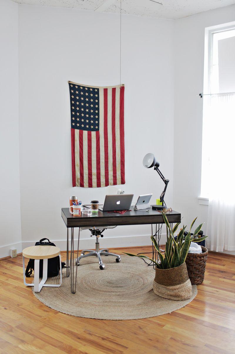 Trey's desk