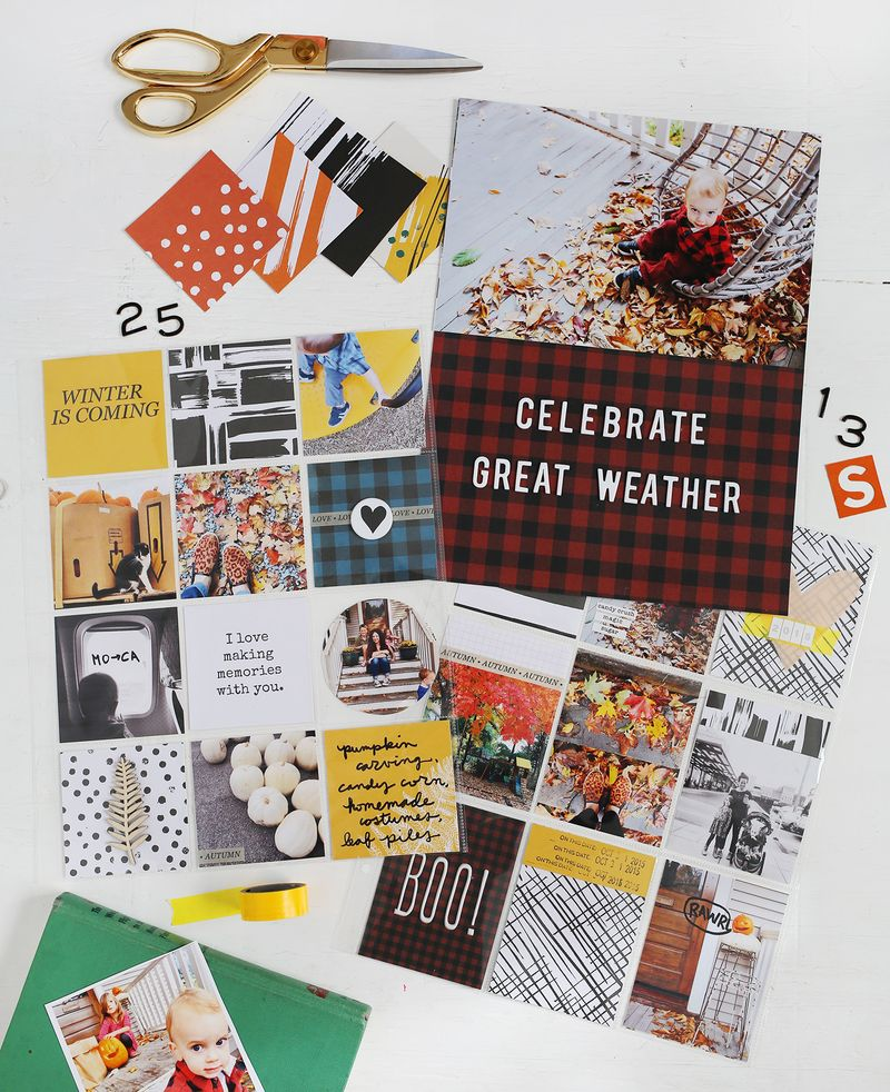 Scrapbook Sunday- November Messy Box