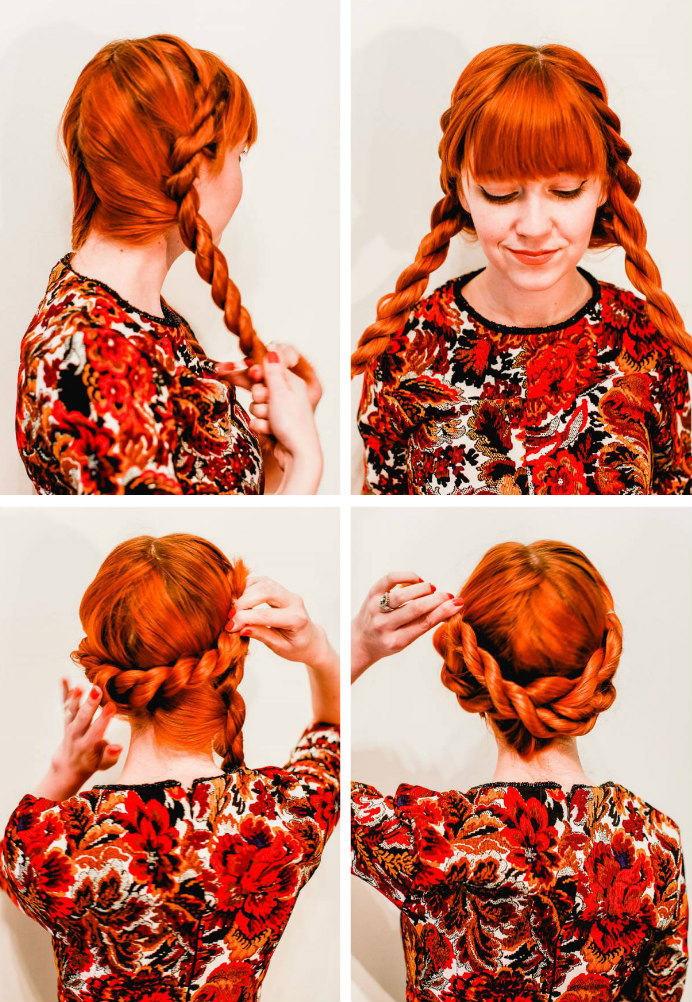 Perfect holiday party updo (click through for the tutorial)