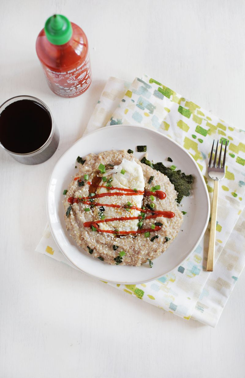 Miso and nori hot cereal