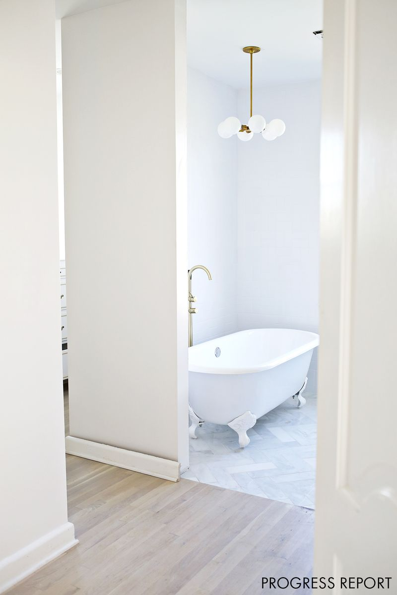 Master Bathroom progress report