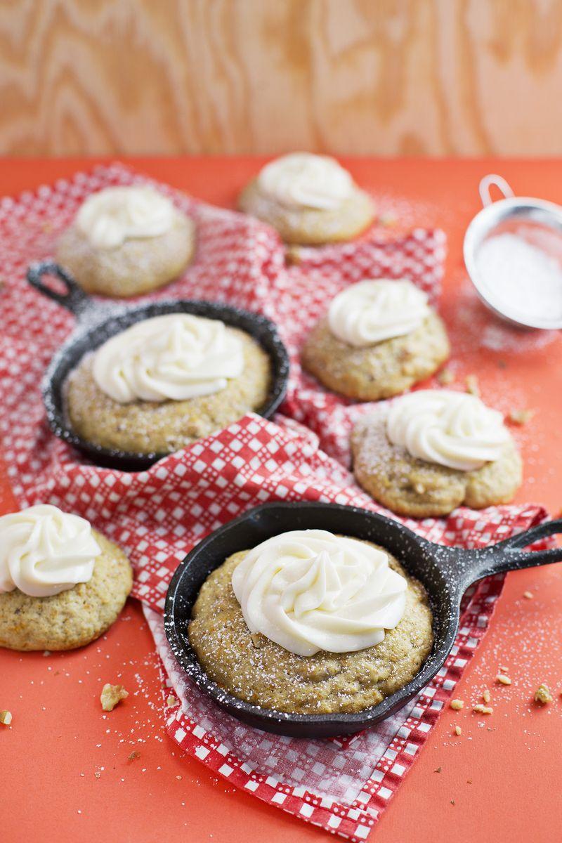 Carrot Cake Skillet Cookies