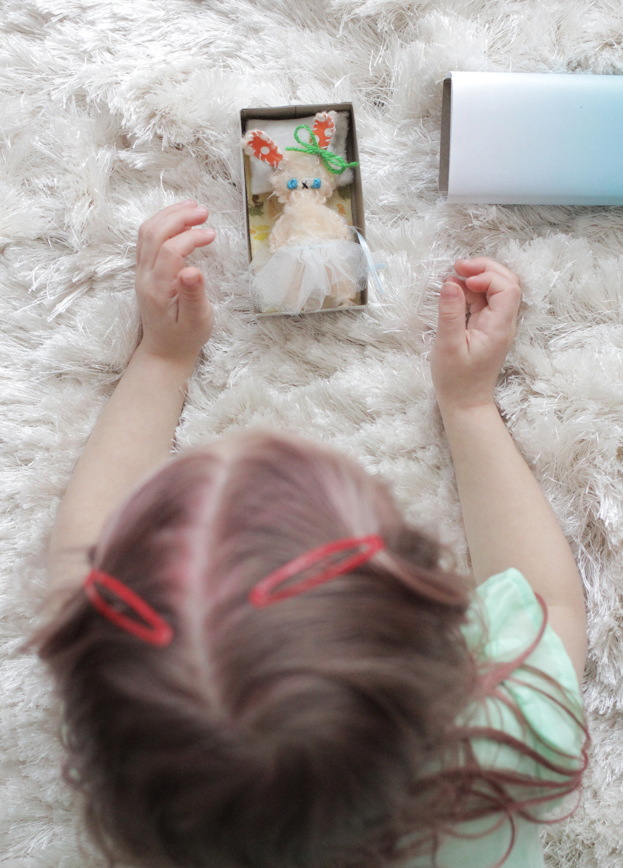 Make your own matchbox doll with this tutorial on A Beautiful Mess