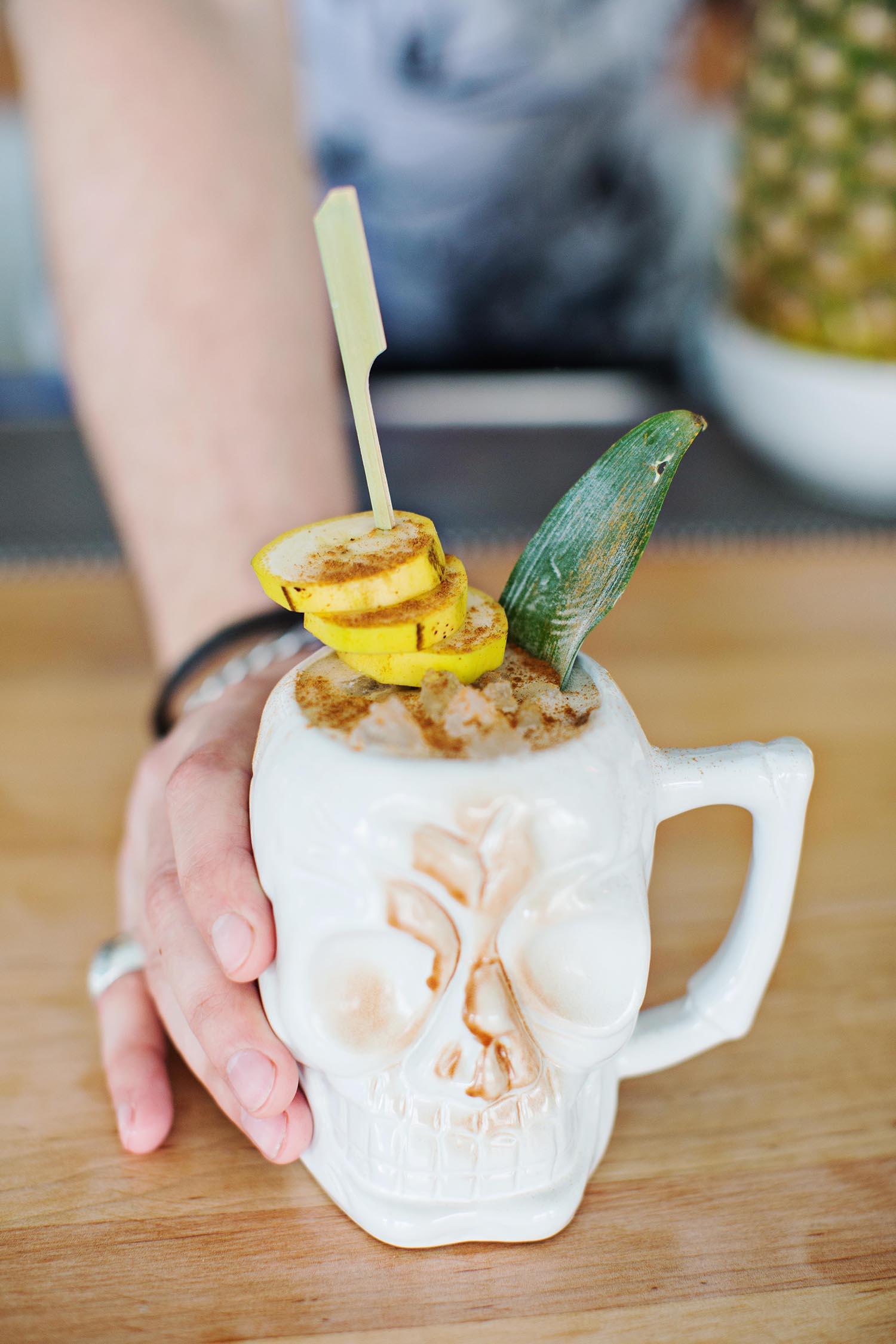 The Golden Girl Rum Club banana man
