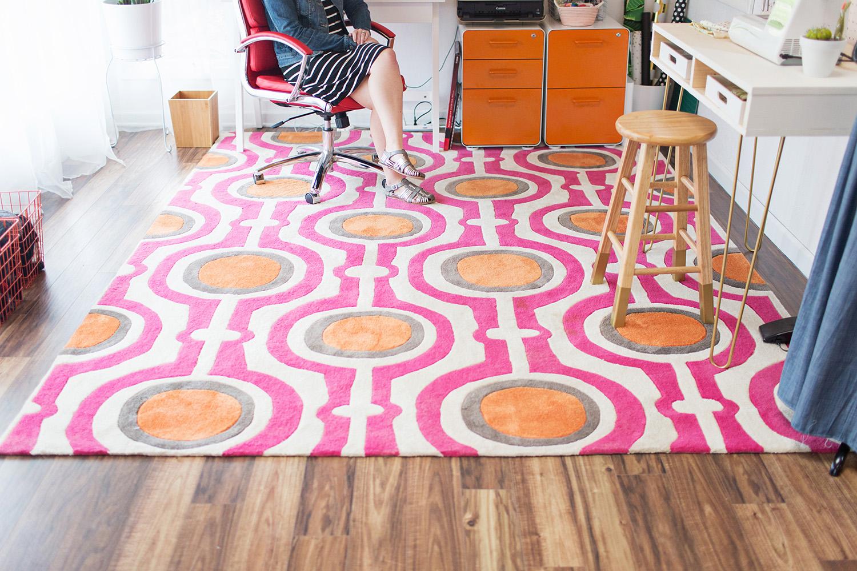 Emma's home office tour (via abeautifulmess.com)