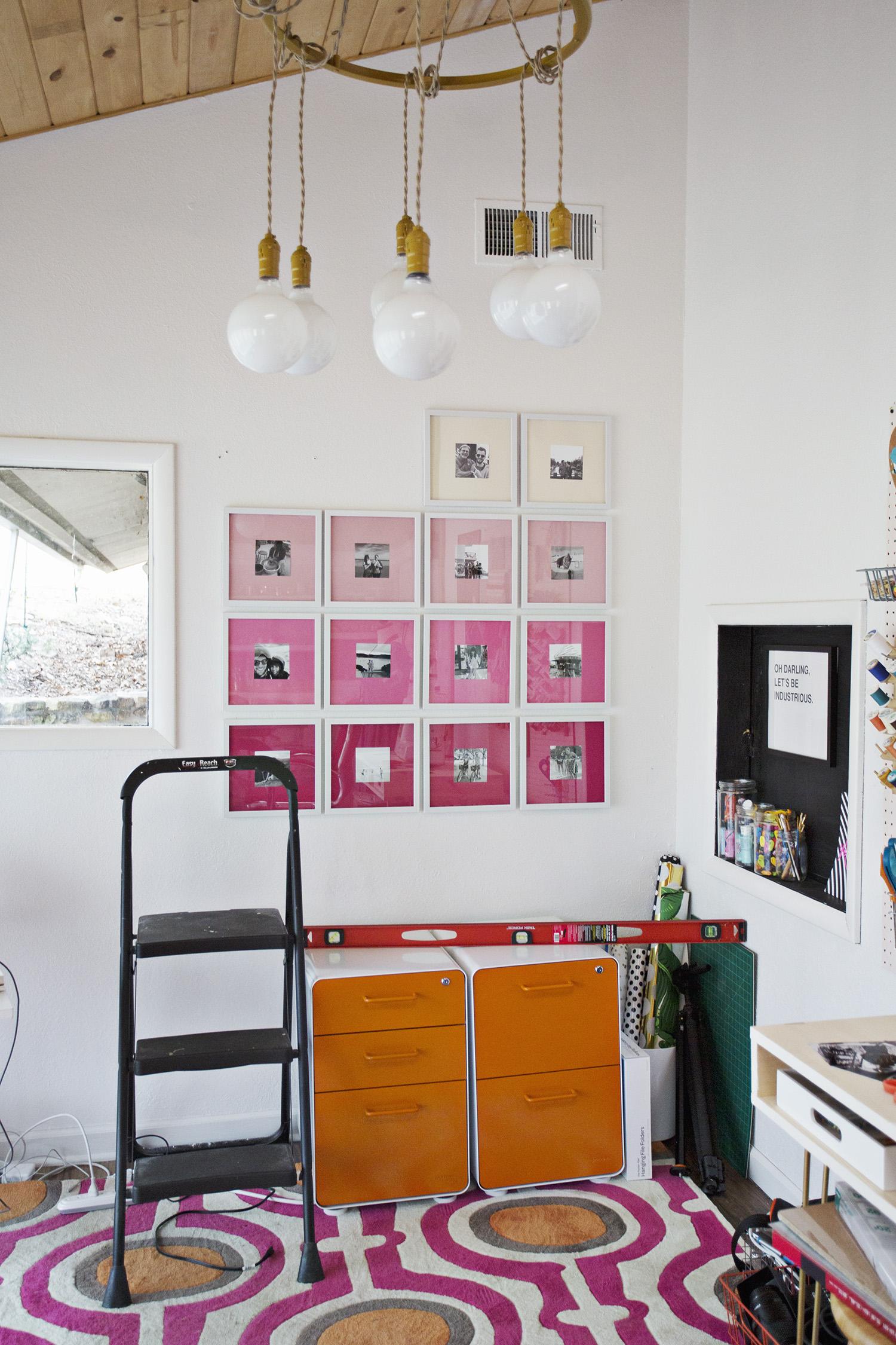 Hang the frames
