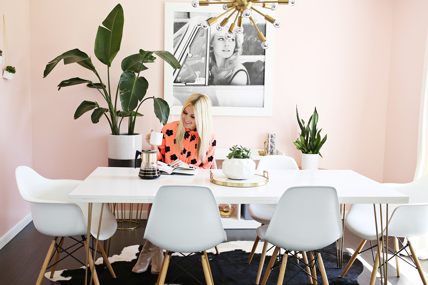 Bon Bright + Airy Sitting:dining Room Makeover (click Through To See Before And  After ...