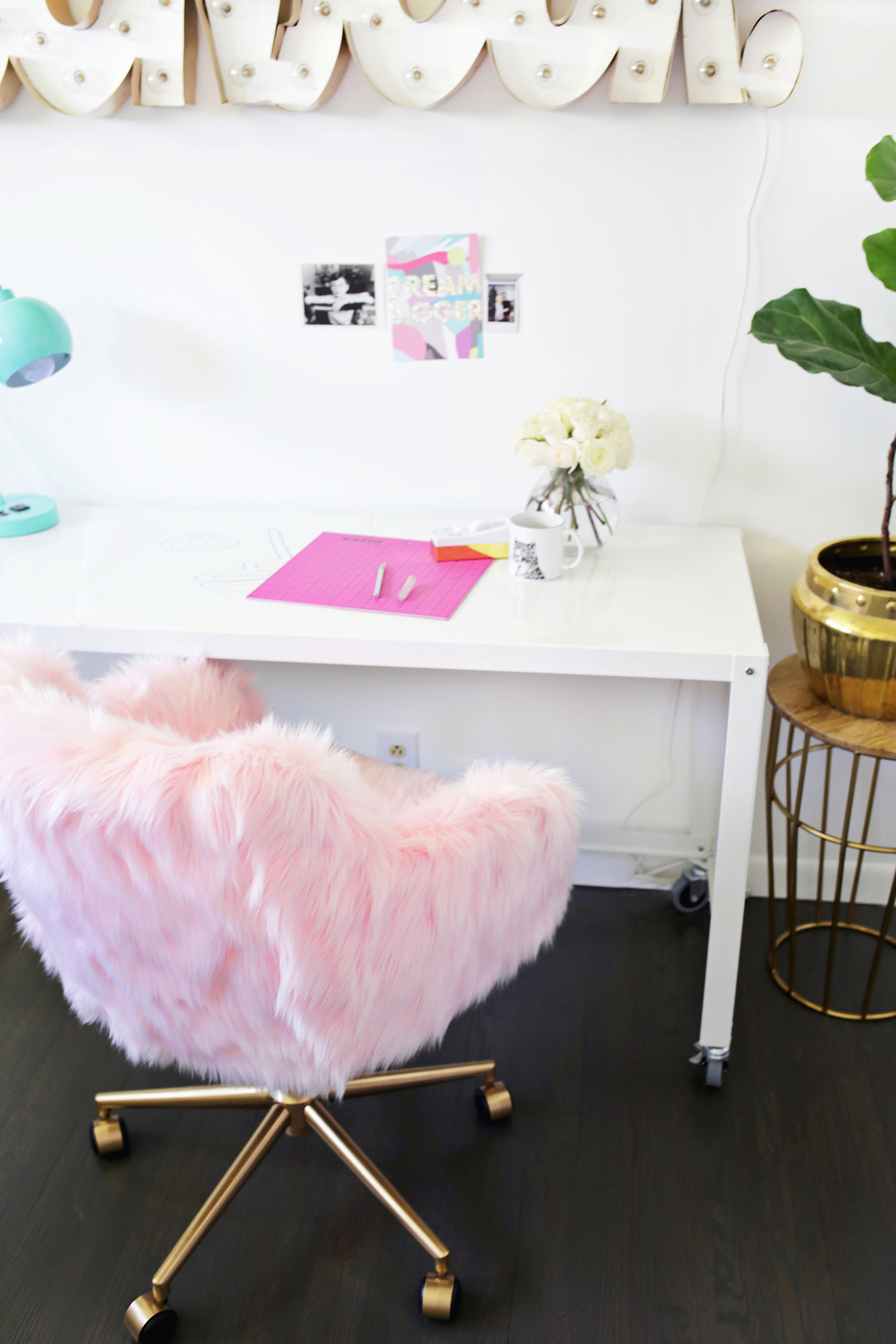Office Chair Makeover So Cute Through For Tutorial