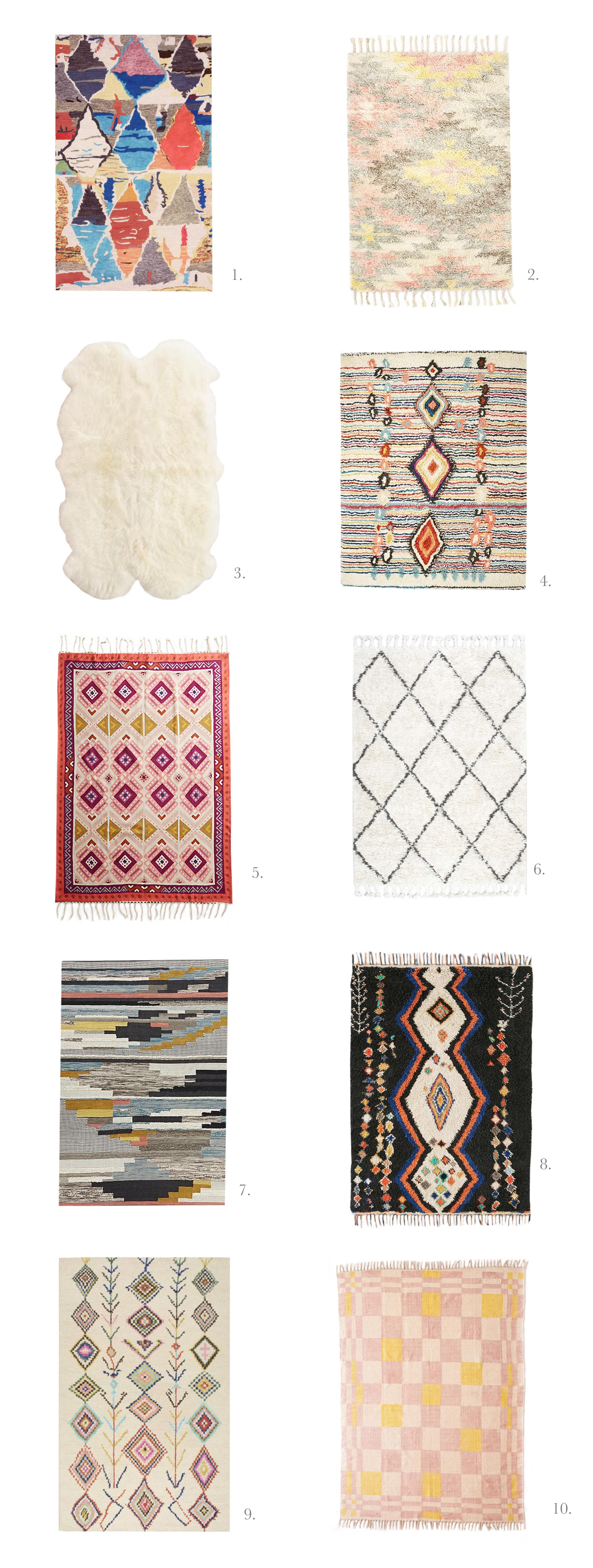 10 rugs I love for under $500