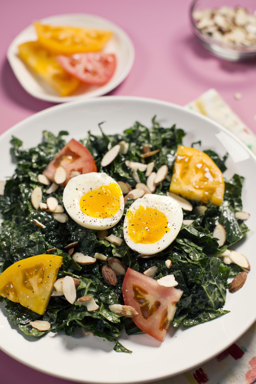 Kale and Miso Salad (via abeautifulmess.com)