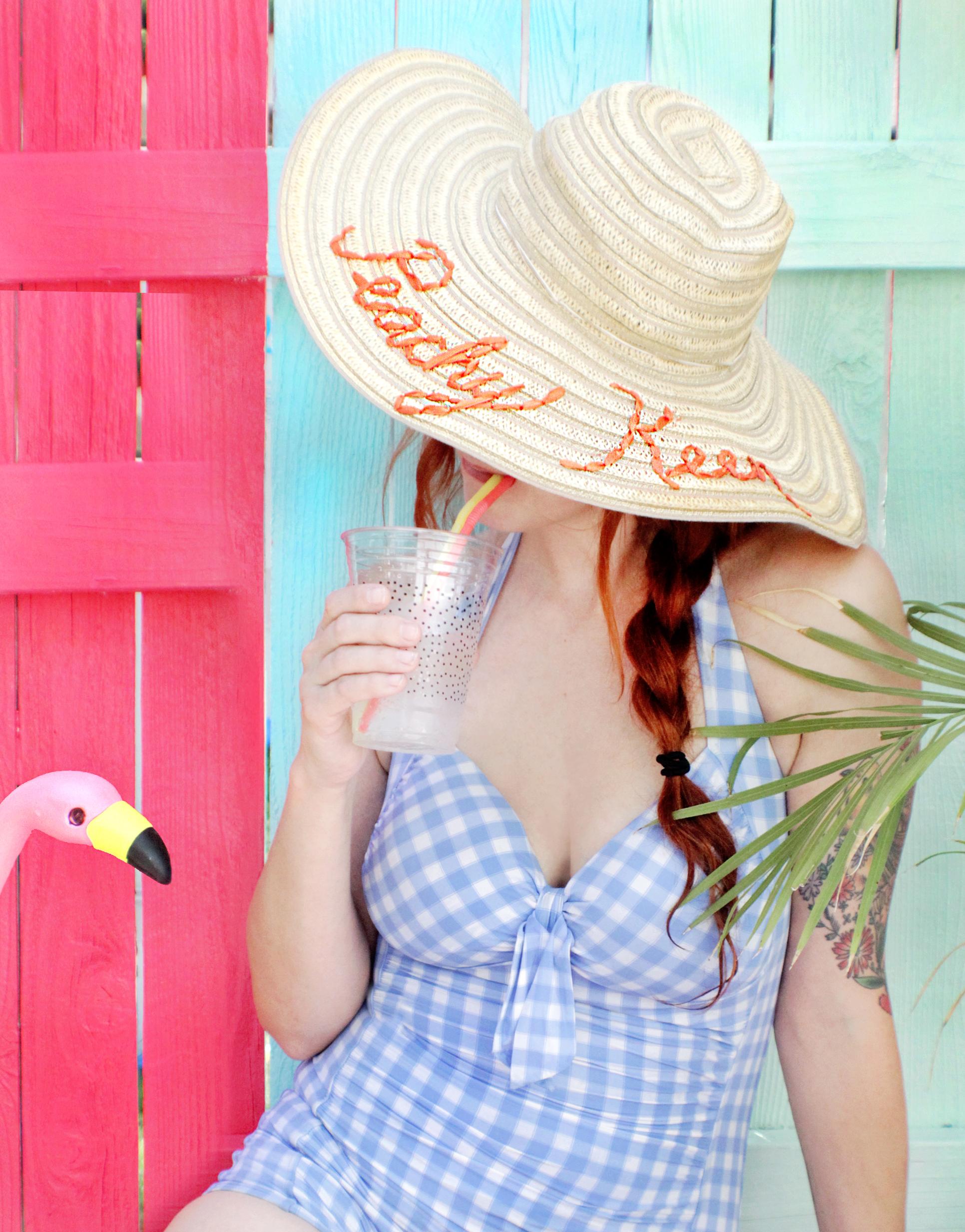 Such a cute DIY for summer! (click through for tutorial)