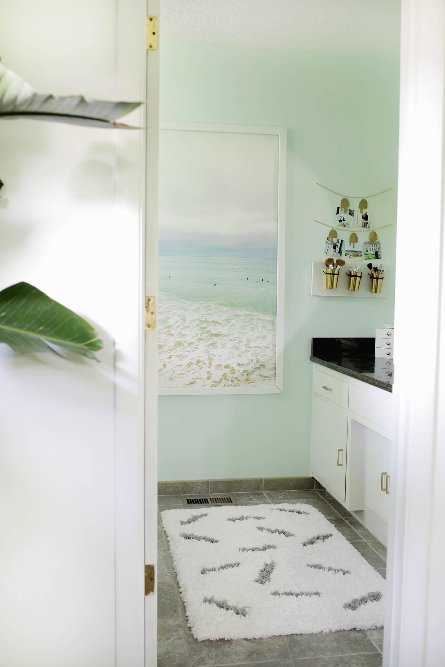Sprinkle Rug DIY—so cute! (click through for tutorial)