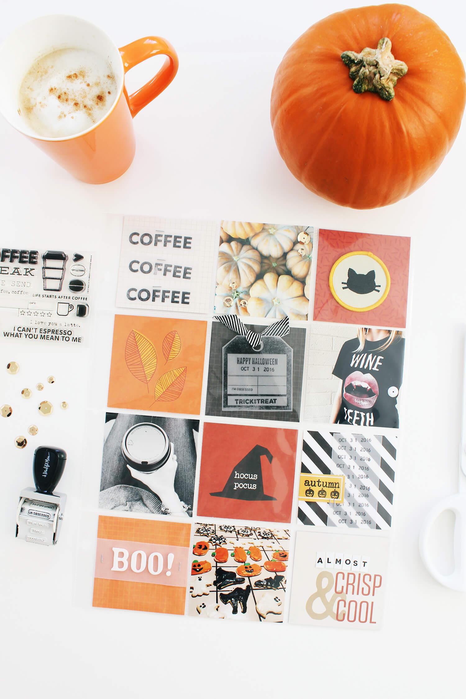 October Messy Box Scrapbook Sunday (5)