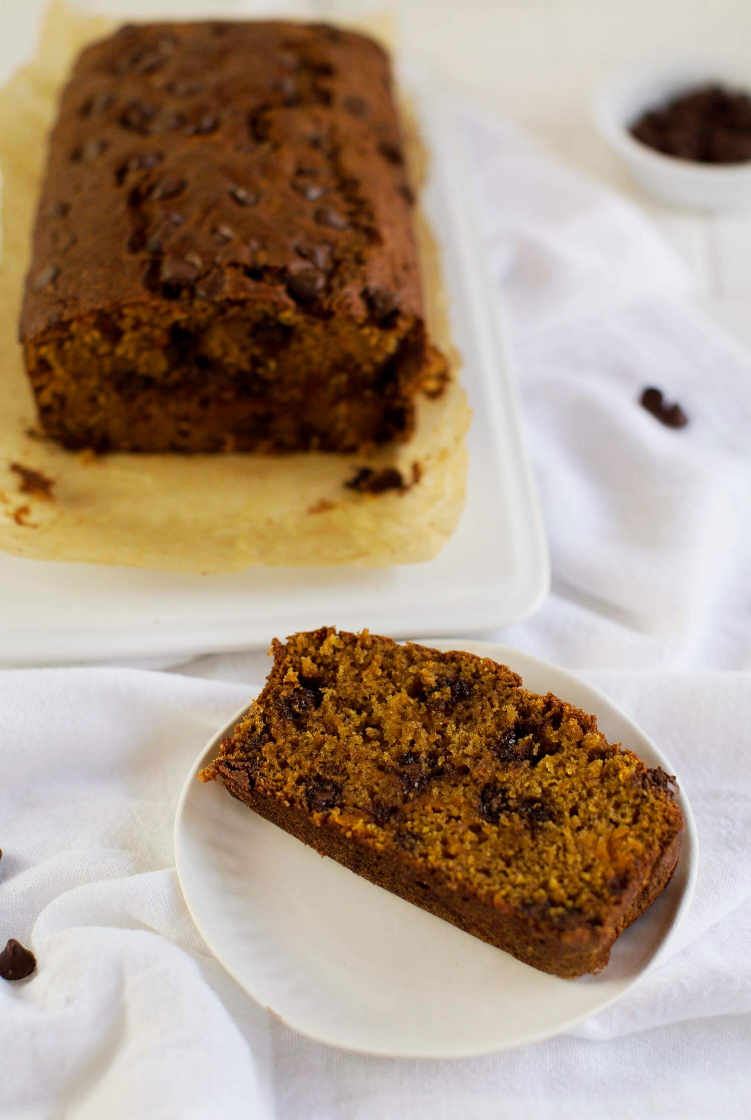 Butternut and Chocolate Bread (via abeautifulmess.com)