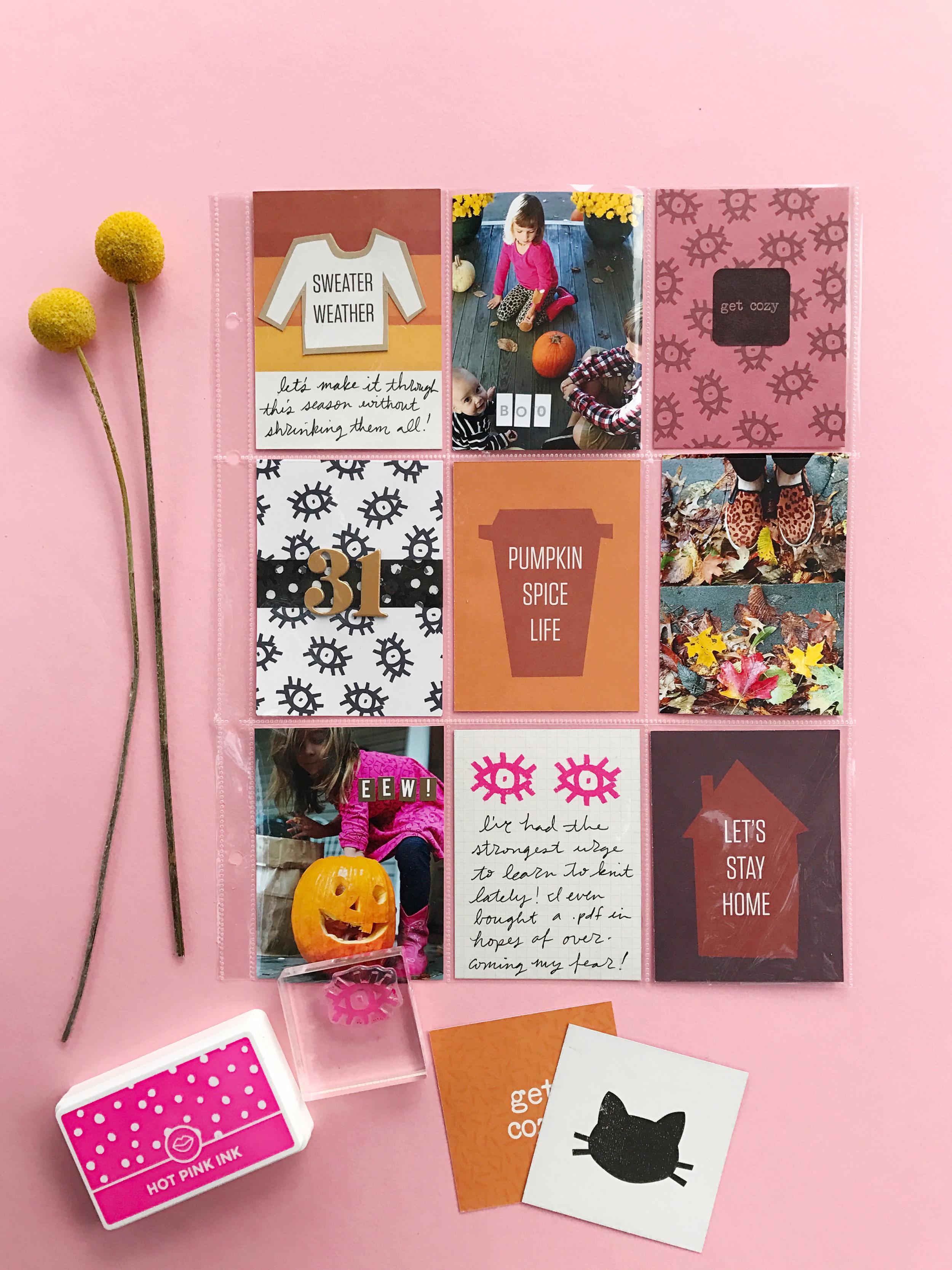 A Beautiful Mess October Messy Box