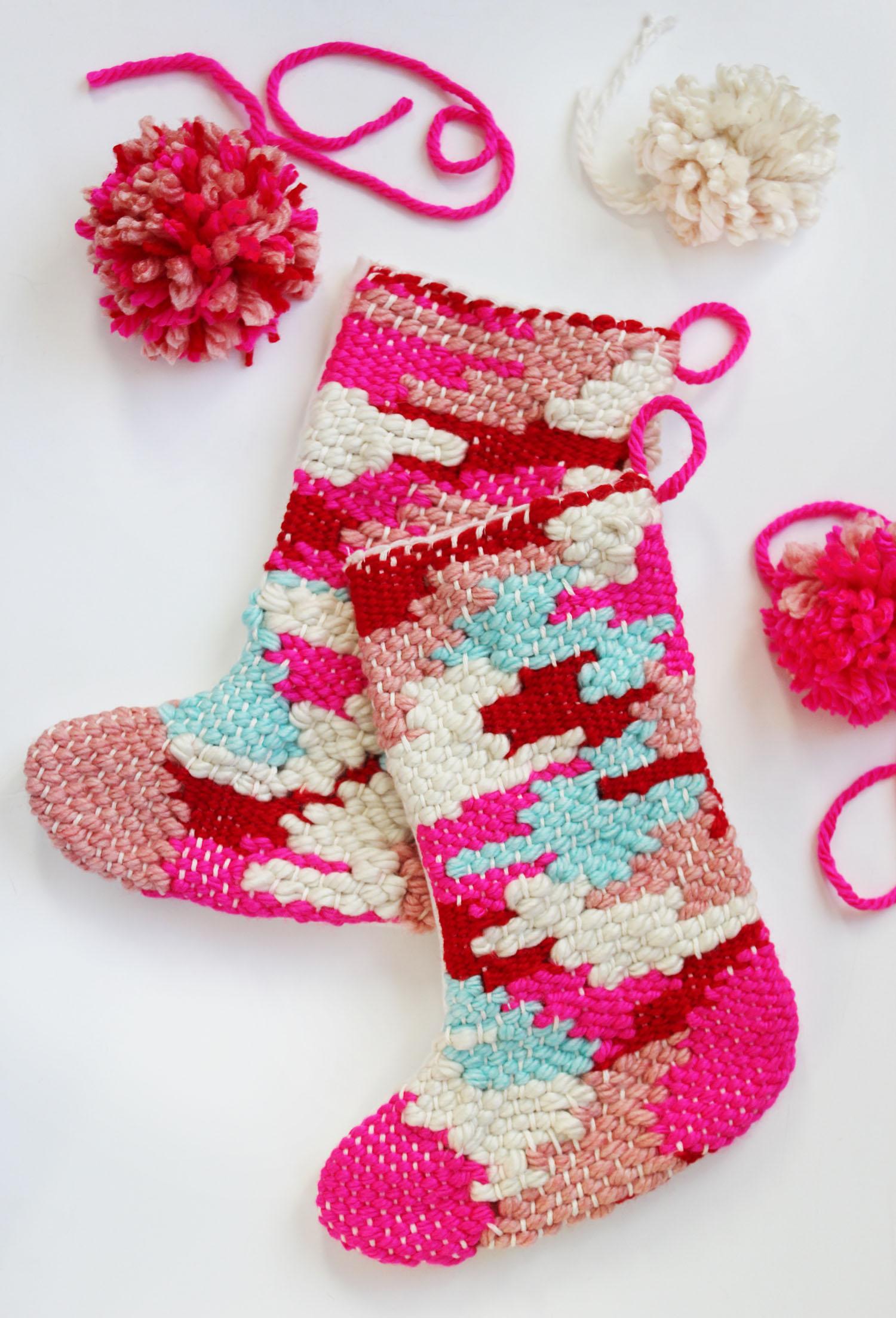 Woven Stocking DIY
