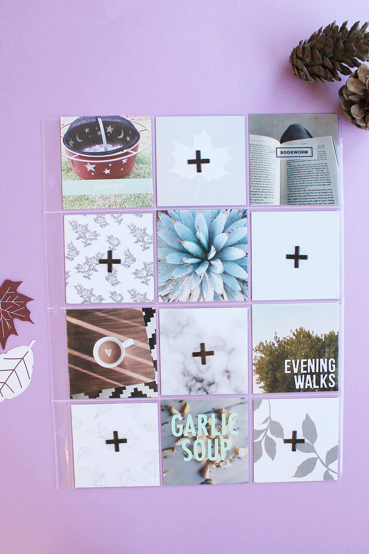 Scrapbook Sunday November Messy Box (abeautifulmess)